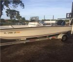 2003 2003 1800 Cape Craft   With 90 hp Mercury 2 stroke saltwater seri