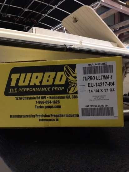 propellers 4 blade ss turbo ultima