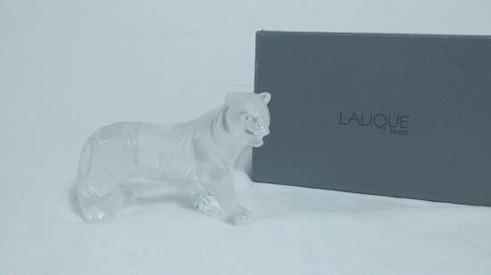 Lalique Crystal, Walking Tiger - still on box $295 obo
